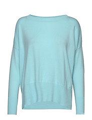 Ladies knit sweater, Villis - LIGHT BLUE