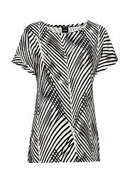Ladies shirt, Sembra - BLACK