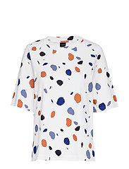 Ladies blouse, Pyörre - WHITE
