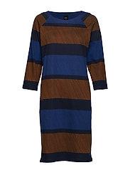 Ladies dress, Puomi - BLUE