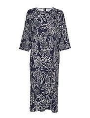Ladies kaftan, Hilkka - DARK BLUE