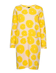 Ladies dress, Mimosa - YELLOW