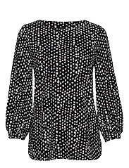 Ladies blouse, Dippi - BLACK