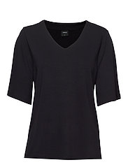 Ladies blouse, Aava - BLACK