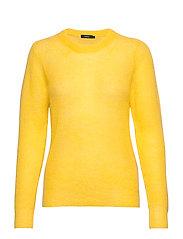 Ladies knit sweater, Kuura - YELLOW