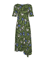 Ladies dress, Iiris - GREEN