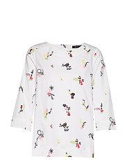 Ladies shirt, Asetelma - MULTICOLOURED