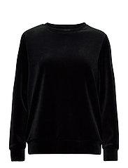 Ladies shirt, Vivia - BLACK
