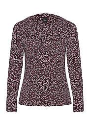 Ladies blouse, Nomparelli - RED-TONED