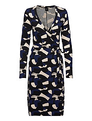 Ladies dress, Paletti - BLUE-TONED