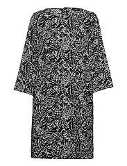 Ladies dress, Runotar - BLACK AND WHITE
