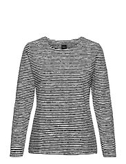 Ladies blouse, Aprilli - BLACK AND WHITE