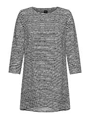 Ladies tunic, Aprilli - BLACK AND WHITE