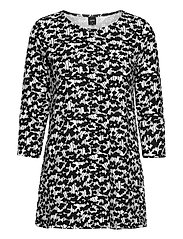 Ladies tunic, Liito - BLACK-WHITE