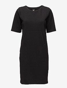 Ladies dress, Isla - BLACK