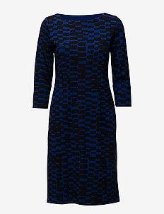 Ladies dress, Täplä - BLUE