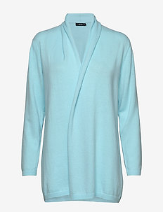 Ladies knit cardigan, Villis - cardigans - light blue