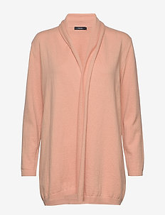 Ladies knit cardigan, Villis - cardigans - pink
