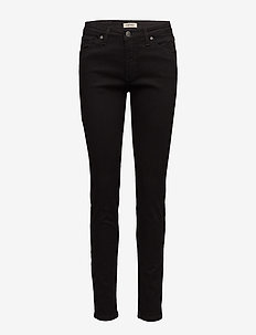 Ladies jeans, Viistasku - BLACK
