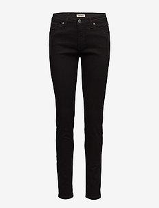 Ladies jeans, Viistasku - skinny jeans - black