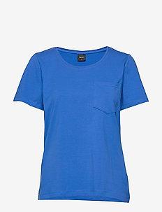 Ladies t-shirt, Tasku - BLUE