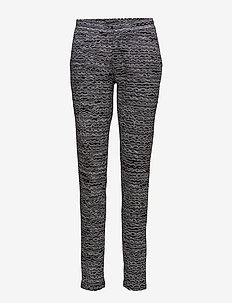 Ladies trousers, Nuudeli - BLACK