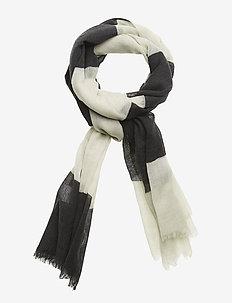 Ladies accessories, Raita-huivi - BLACK AND WHITE