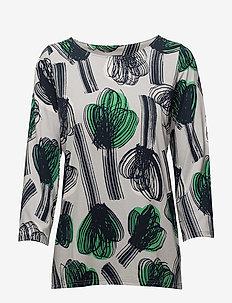 Ladies shirt, Nuppu - GREEN