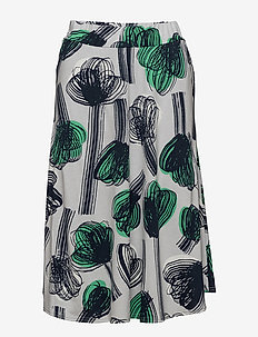 Ladies skirt, Nuppu - midinederdele - green