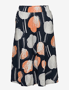 Ladies skirt, Nuppu - ORANGE