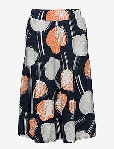 Ladies skirt, Nuppu - ORANGE