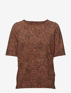 Ladies shirt, Sesam - ORANGE