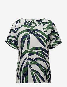 Ladies shirt, Palmu - GREEN