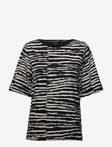 Ladies shirt, Suti - BLACK