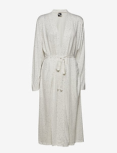 Ladies dressing gown, Hiutale - WHITE