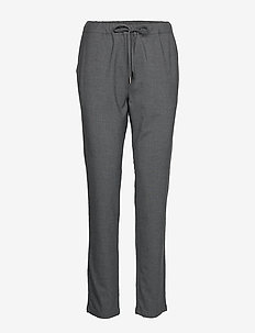 Ladies trousers, Joggeri - MELANGED GRAPHITE