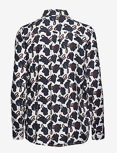Ladies shirt, Asteri - overhemden met lange mouwen - blue