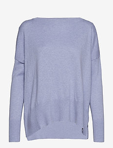 Ladies knit sweater, Villis - BLUE