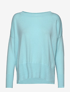 Ladies knit sweater, Villis - trøjer - light blue