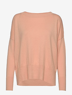 Ladies knit sweater, Villis - pulls - pink
