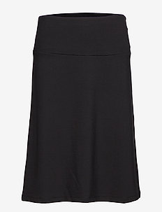 Ladies skirt, Bella - midinederdele - black