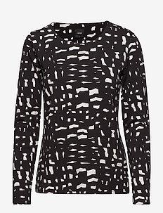 Ladies shirt, Roso - BLACK