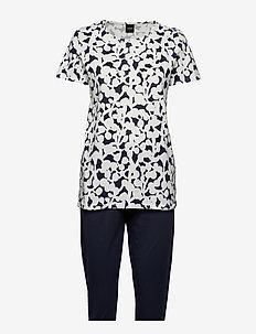 Ladies pyjamas, Taimi - DARK BLUE
