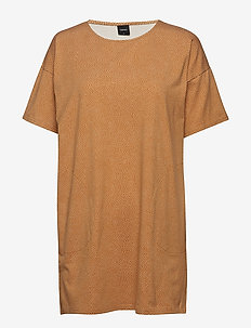 Ladies leisure wear/ tunic, Pilkut - LIGHT BROWN