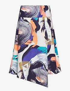 Ladies skirt, Orvokki - midi rokken - multicoloured
