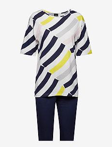 Ladies pyjamas, Värikaari - MULTICOLOURED
