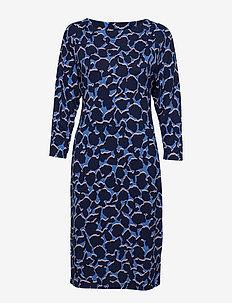 Ladies dress, Indus - BLUE
