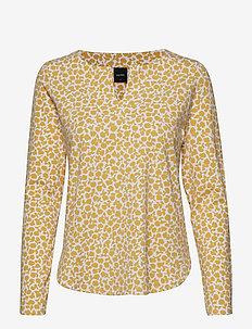 Ladies shirt, Kashmir - YELLOW