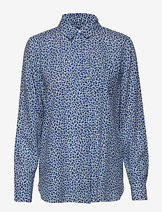 Ladies shirt, Pikku Kashmir - BLUE