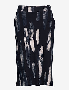 Ladies skirt, Maali - midi rokken - dark blue